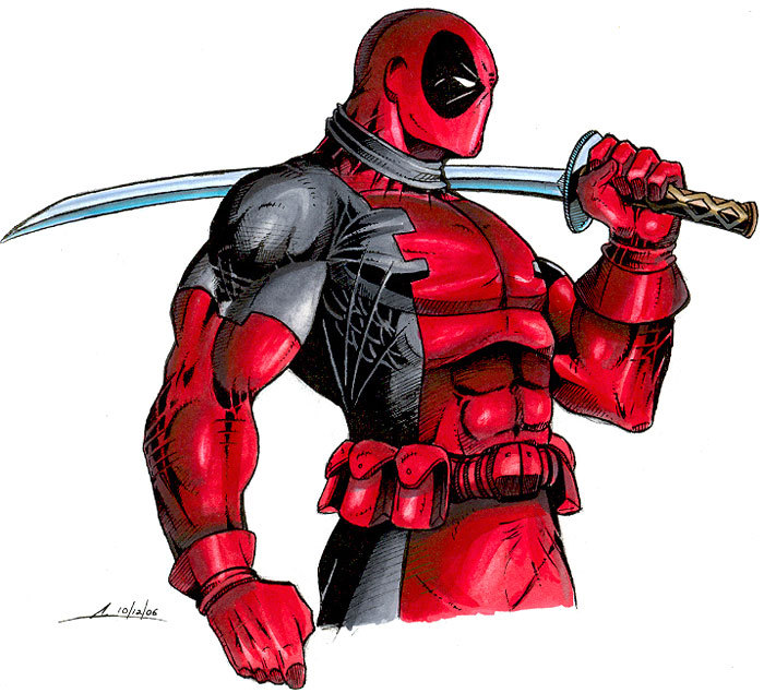 Deadpool Super Ninja
